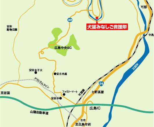 広島拠点MAP